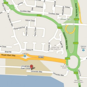 E16 2RD - Google Map